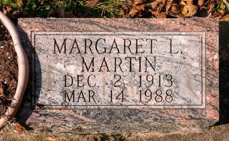 MARTIN, MARGARET L - Huron County, Ohio | MARGARET L MARTIN - Ohio Gravestone Photos