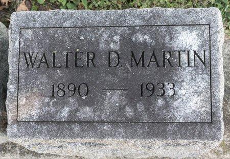 MARTIN, WALTER D - Huron County, Ohio | WALTER D MARTIN - Ohio Gravestone Photos