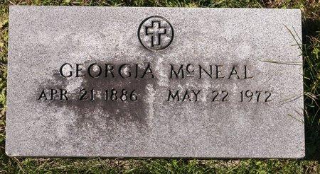 MCNEAL, GEORGIA - Huron County, Ohio | GEORGIA MCNEAL - Ohio Gravestone Photos