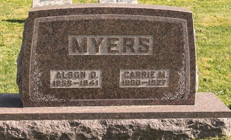 MYERS, CARRIE M - Huron County, Ohio | CARRIE M MYERS - Ohio Gravestone Photos