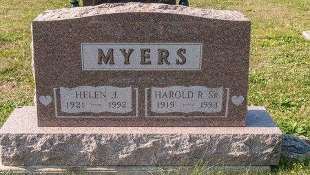 MYERS, HELEN J - Huron County, Ohio | HELEN J MYERS - Ohio Gravestone Photos