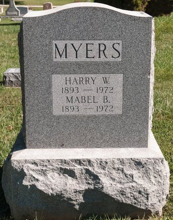MYERS, MABEL B - Huron County, Ohio | MABEL B MYERS - Ohio Gravestone Photos