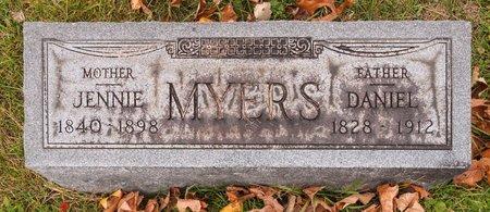 MYERS, JENNIE - Huron County, Ohio   JENNIE MYERS - Ohio Gravestone Photos