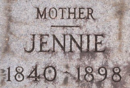 MYERS, JENNIE - Huron County, Ohio | JENNIE MYERS - Ohio Gravestone Photos
