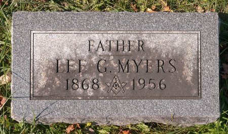 MYERS, LEE G - Huron County, Ohio | LEE G MYERS - Ohio Gravestone Photos