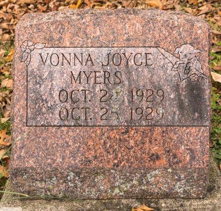 MYERS, VONNA JOYCE - Huron County, Ohio | VONNA JOYCE MYERS - Ohio Gravestone Photos