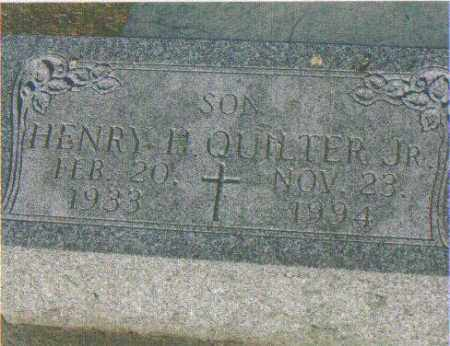 QUILTER, HENRY H. (JR) - Huron County, Ohio | HENRY H. (JR) QUILTER - Ohio Gravestone Photos