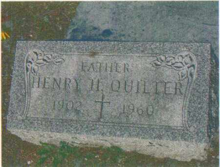 QUILTER, HENRY H (SR) - Huron County, Ohio   HENRY H (SR) QUILTER - Ohio Gravestone Photos
