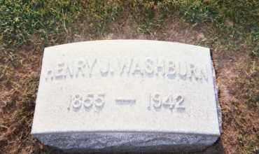WASHBURN, HENRY J. - Huron County, Ohio   HENRY J. WASHBURN - Ohio Gravestone Photos