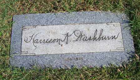 WASHBURN, HARRISON KENNETH - Huron County, Ohio | HARRISON KENNETH WASHBURN - Ohio Gravestone Photos