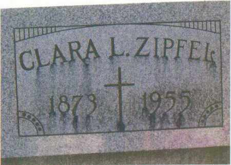 HIPP ZIPFEL, CLARA L. - Huron County, Ohio | CLARA L. HIPP ZIPFEL - Ohio Gravestone Photos