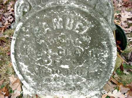 CLAAR, SAMUEL - Jackson County, Ohio | SAMUEL CLAAR - Ohio Gravestone Photos