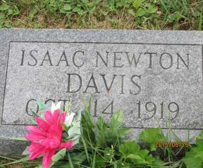 DAVIS, ISAAC - Jackson County, Ohio | ISAAC DAVIS - Ohio Gravestone Photos