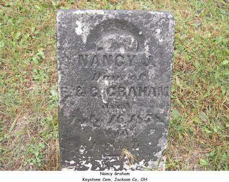 GRAHAM, NANCY - Jackson County, Ohio | NANCY GRAHAM - Ohio Gravestone Photos