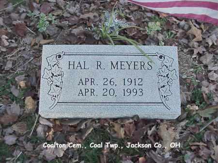 MEYERS, HAL - Jackson County, Ohio | HAL MEYERS - Ohio Gravestone Photos