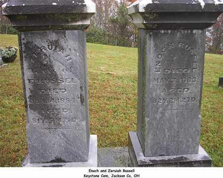 RUSSEL, ENOCH - Jackson County, Ohio | ENOCH RUSSEL - Ohio Gravestone Photos