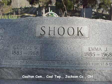 SHOOK, GEORGE - Jackson County, Ohio   GEORGE SHOOK - Ohio Gravestone Photos
