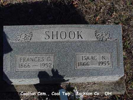 SHOOK, FRANCES - Jackson County, Ohio | FRANCES SHOOK - Ohio Gravestone Photos