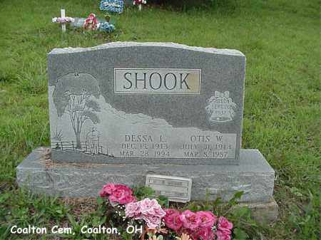 SHOOK, DESSA - Jackson County, Ohio | DESSA SHOOK - Ohio Gravestone Photos