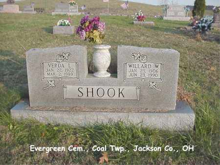 SHOOK, WILLARD - Jackson County, Ohio | WILLARD SHOOK - Ohio Gravestone Photos