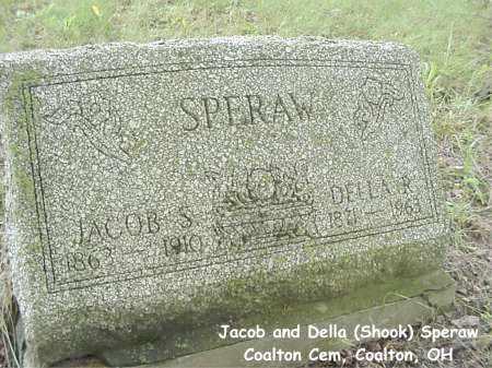 SHOOK SPERAW, DELLA - Jackson County, Ohio | DELLA SHOOK SPERAW - Ohio Gravestone Photos