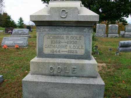 COLE, JOSHUA P - Jefferson County, Ohio | JOSHUA P COLE - Ohio Gravestone Photos