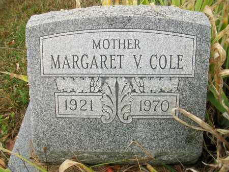 COLE, MARGARET V - Jefferson County, Ohio | MARGARET V COLE - Ohio Gravestone Photos