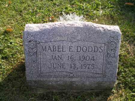DODDS, MABEL E - Jefferson County, Ohio | MABEL E DODDS - Ohio Gravestone Photos