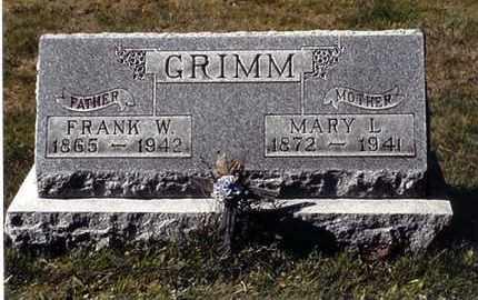 GRIMM, MARY L - Jefferson County, Ohio | MARY L GRIMM - Ohio Gravestone Photos