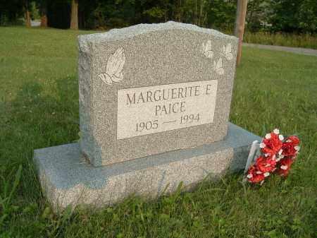 PAICE, MARGUERITE ELIZABETH - Jefferson County, Ohio | MARGUERITE ELIZABETH PAICE - Ohio Gravestone Photos