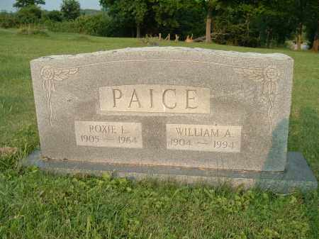 PAICE, ROXIE LUCILLE - Jefferson County, Ohio | ROXIE LUCILLE PAICE - Ohio Gravestone Photos