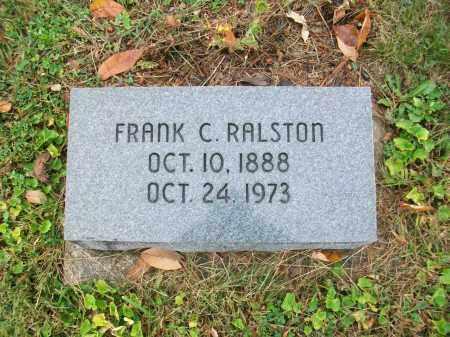 RALSTON, FRANK COURTRIGHT - Jefferson County, Ohio | FRANK COURTRIGHT RALSTON - Ohio Gravestone Photos