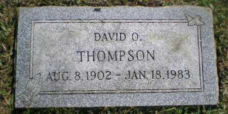 THOMPSON, DAVID O - Jefferson County, Ohio   DAVID O THOMPSON - Ohio Gravestone Photos