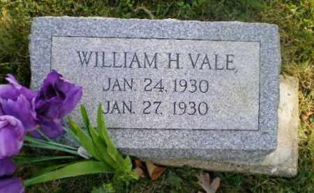 VALE, WILLIAM H - Jefferson County, Ohio | WILLIAM H VALE - Ohio Gravestone Photos