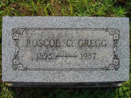 GREGG, ROSCOE - Knox County, Ohio   ROSCOE GREGG - Ohio Gravestone Photos