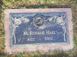 HALL, ROSALIE - Knox County, Ohio | ROSALIE HALL - Ohio Gravestone Photos