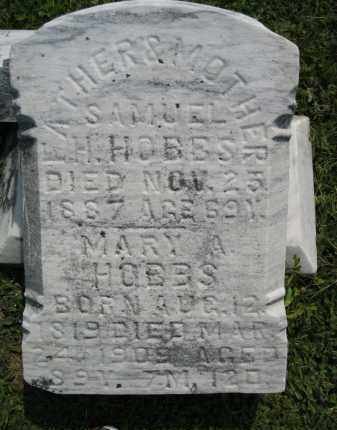 HOBBS, MARY ANN - Knox County, Ohio | MARY ANN HOBBS - Ohio Gravestone Photos