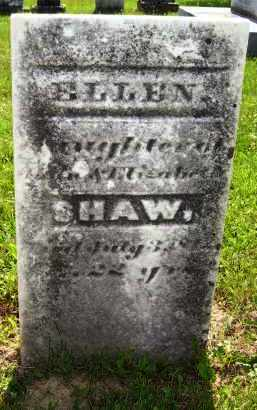 SHAW, ELLEN - Knox County, Ohio   ELLEN SHAW - Ohio Gravestone Photos