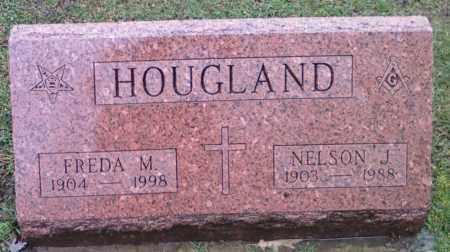 HOUGLAND, NELSON - Lake County, Ohio | NELSON HOUGLAND - Ohio Gravestone Photos
