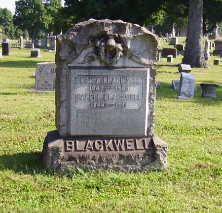 BLACKWELL, JOHN ALEXANDER - Lawrence County, Ohio | JOHN ALEXANDER BLACKWELL - Ohio Gravestone Photos