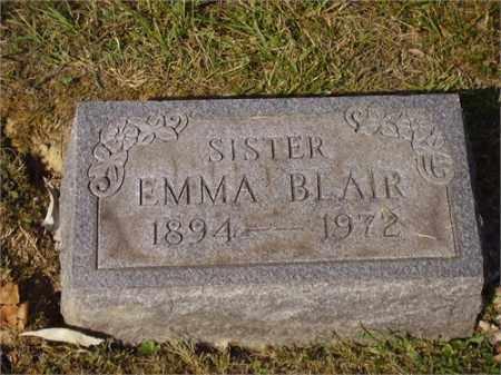 BLAIR, EMMA - Lawrence County, Ohio   EMMA BLAIR - Ohio Gravestone Photos