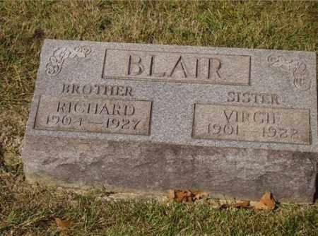 BLAIR, VIRGIE - Lawrence County, Ohio | VIRGIE BLAIR - Ohio Gravestone Photos