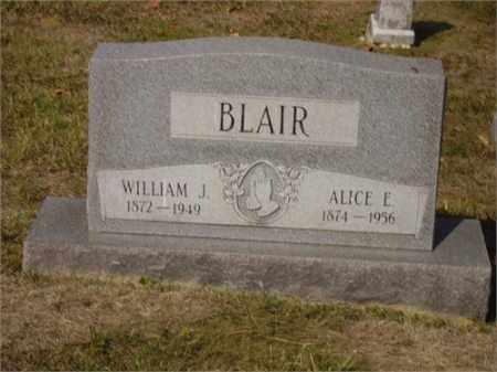 BLAIR, WILLIAM JEPTHA - Lawrence County, Ohio | WILLIAM JEPTHA BLAIR - Ohio Gravestone Photos