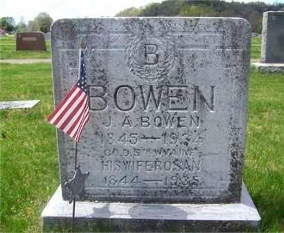 BOWEN, JOHN A. - Lawrence County, Ohio | JOHN A. BOWEN - Ohio Gravestone Photos