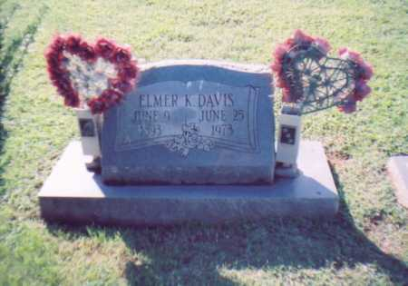 DAVIS, ELMER K. - Lawrence County, Ohio   ELMER K. DAVIS - Ohio Gravestone Photos
