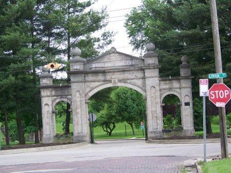 ENTRANCE, *CEMETERY - Lawrence County, Ohio | *CEMETERY ENTRANCE - Ohio Gravestone Photos