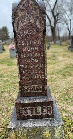 ESTLER  (CW), JAMES A, - Lawrence County, Ohio | JAMES A, ESTLER  (CW) - Ohio Gravestone Photos