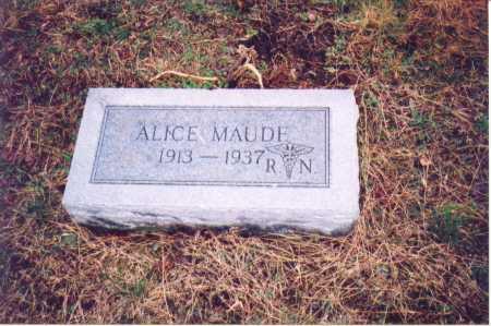 HAIRSTON, ALICE MAUDE - Lawrence County, Ohio   ALICE MAUDE HAIRSTON - Ohio Gravestone Photos