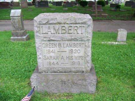LAMBERT, GREEN B. - Lawrence County, Ohio | GREEN B. LAMBERT - Ohio Gravestone Photos