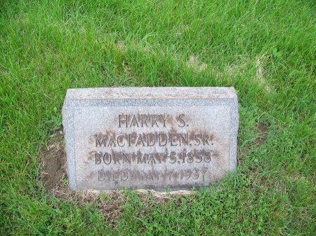 MCFADDEN, SR, HARRY S - Lawrence County, Ohio | HARRY S MCFADDEN, SR - Ohio Gravestone Photos